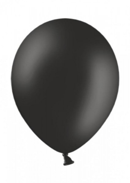 Luftballon Schwarz 28cm Durchmesser 50 Stück