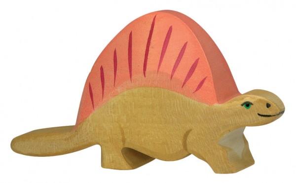 Dimetrodon Dino Holzfigur Holzspielzeug von Holztiger