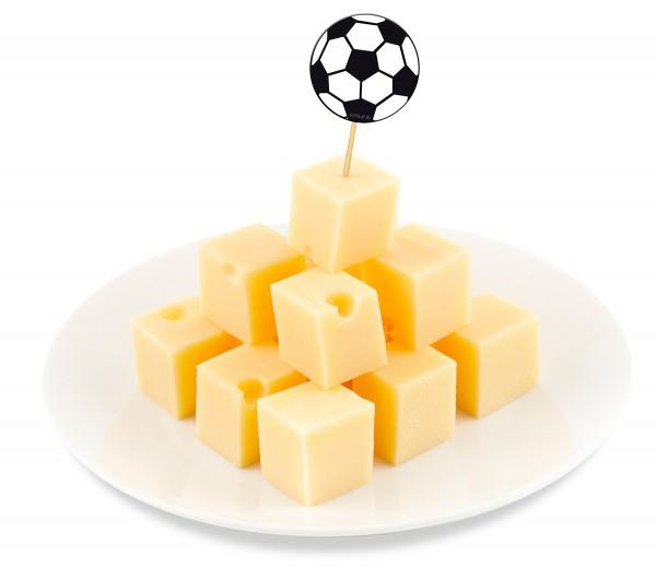 Fussball EM WM Party-Holz-Picks Picker 20 Stück
