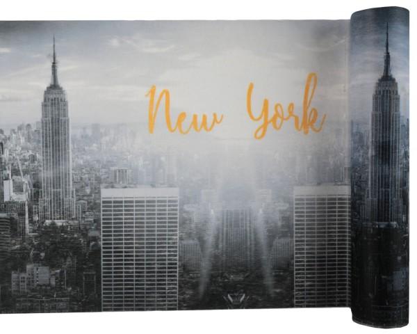 Tischläufer New York Vlies 5m Tischband