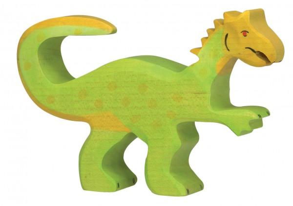 Oviraptor Dino Holzfigur Holzspielzeug von Holztiger