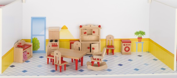 Puppenmöbel Küche goki klassik Puppenstube