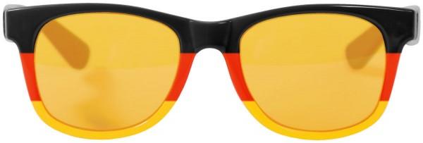 Deutschland Sonnenbrille für Fußball Handball Fanartikel 6 Stück