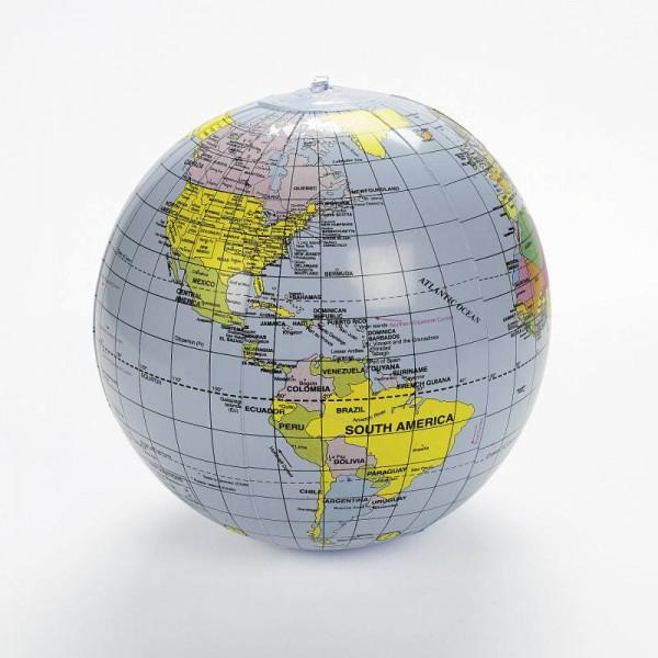 Aufblasbare Weltkugel Globus