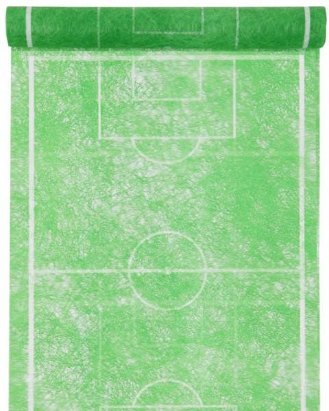 Tischläufer Fußball Spielfeld Design 5 Meter Rolle
