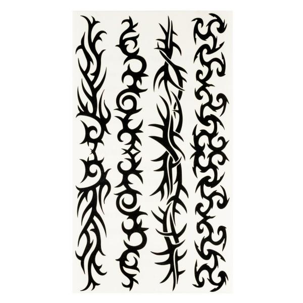 Kinder Tattoo Tribal Armtattoos 12 Stück in 4 Motiven