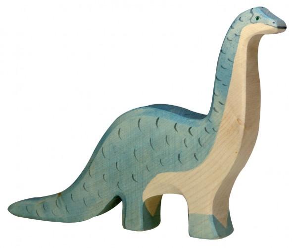 Brontosaurus Dino Holzfigur Holzspielzeug von Holztiger