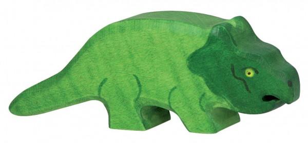 Protoceratops Dino Holzfigur Holzspielzeug von Holztiger