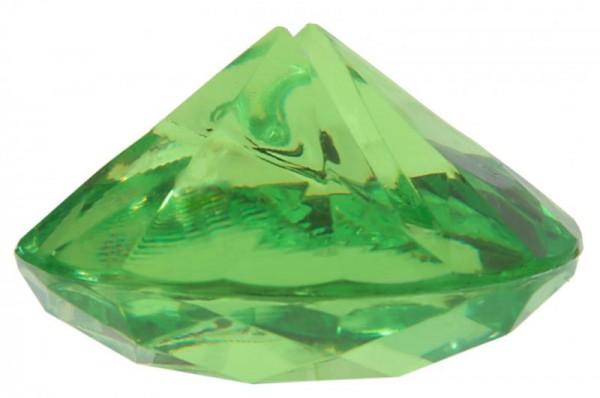Tischkartenhalter Diamant Grün für Namensschild 4 Stück