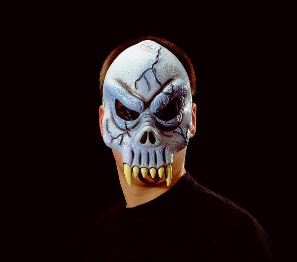 Halloween Maske Vampir Totenschädel