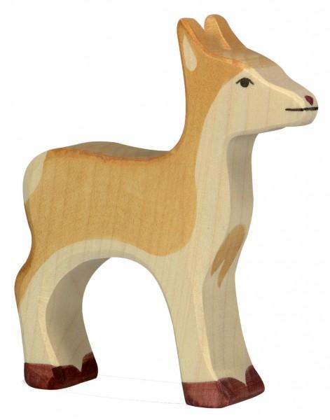 Reh Waldtier Holzfigur Holzspielzeug von Holztiger