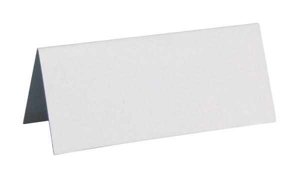 Platzkarten Namensschilder aus Pappe weiß 10 Stück