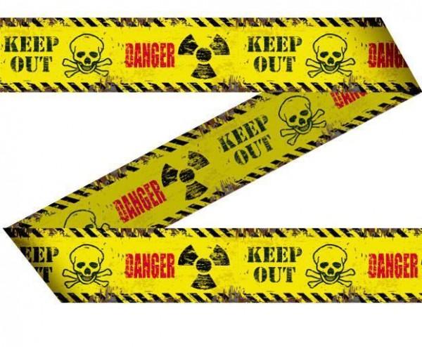Halloween Absperrband Danger Horror Keep Out