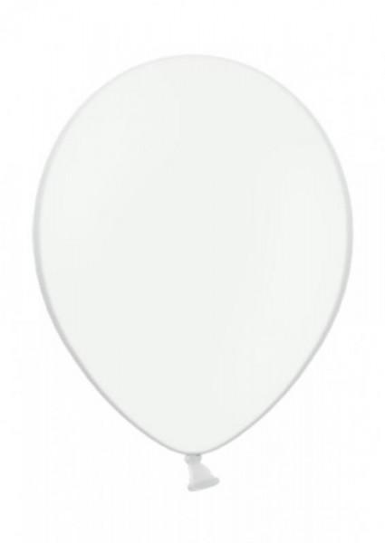 Luftballon Weiß 28cm Durchmesser 50 Stück