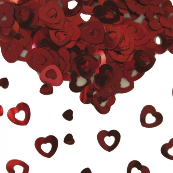 Konfetti Herzen für Taufe, Hochzeit und Event