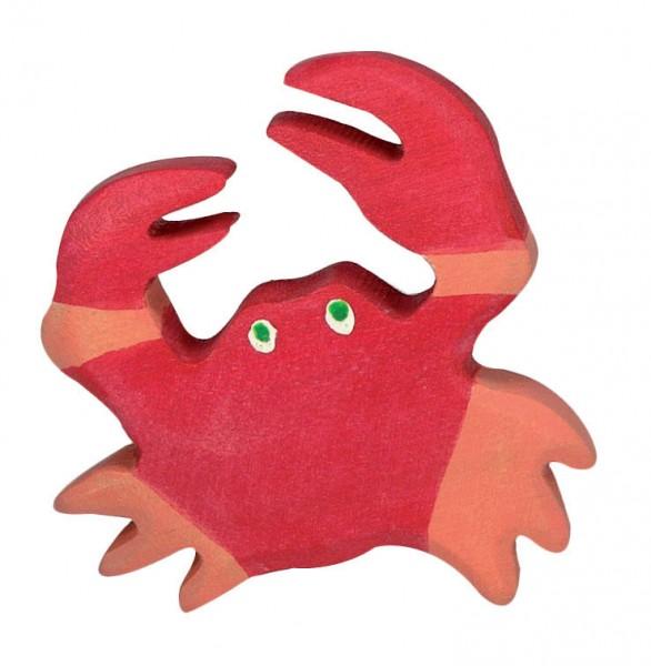 Krebs Holzfigur Krabbe Holzspielzeug von Holztiger