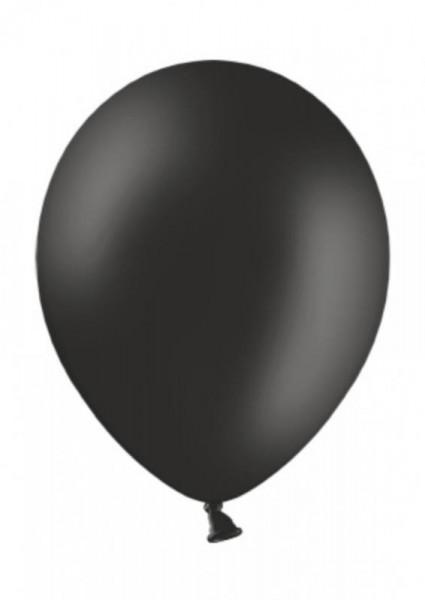 Luftballon Schwarz 28cm Durchmesser 10 Stück