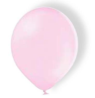 Luftballon Latexballon Soft Pink 30 cm mit Helium