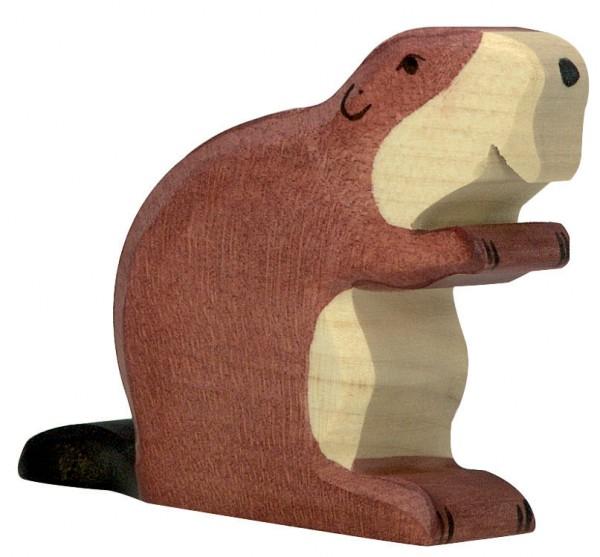 Biber Holzfigur Holzspielzeug von Holztiger