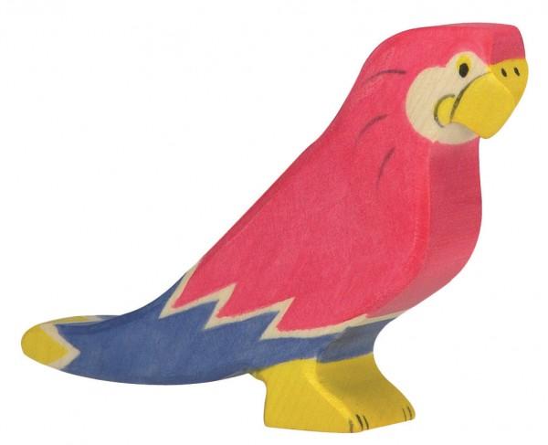 Papagei Safari Holzfigur Holzspielzeug von Holztiger