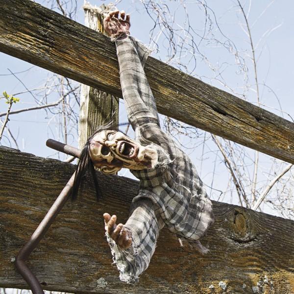 Halloween Zombie Horror Torso Hängedeko Raumdeko ca. 68cm