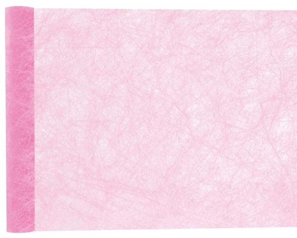 Tischläufer Rosa Vlies 25 m Premium Rolle