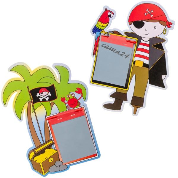 Piraten Zaubertafel Mitgebsel 12 Stück