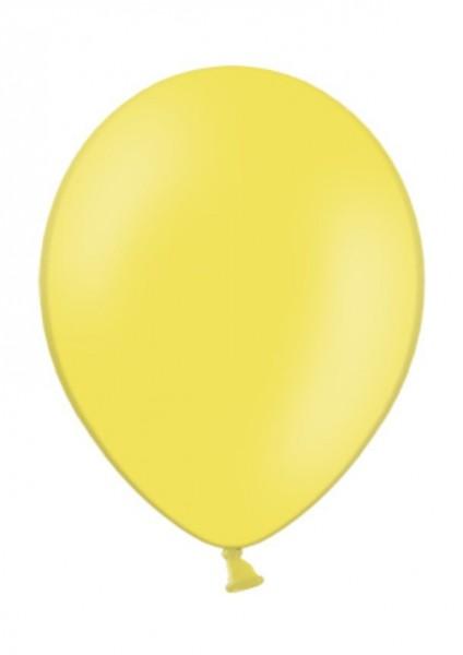 Luftballon Gelb 28cm Durchmesser 100 Stück