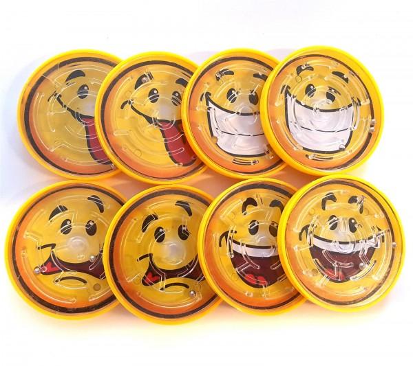 Smiley Geschicklichkeitsspiel 8 Stück