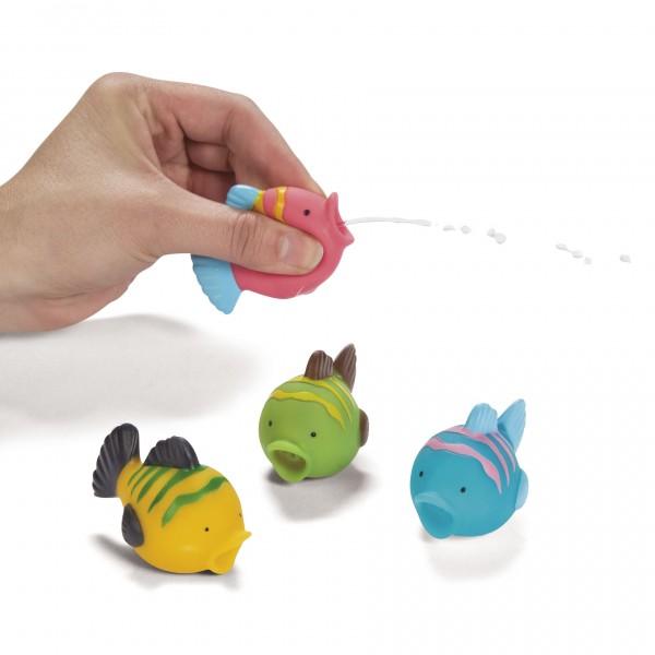 Bunte Fische mini als Spritztier Mitgebsel 12 Stück