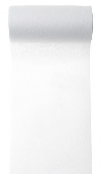 Tischband weiß Vlies 10cm x 10m