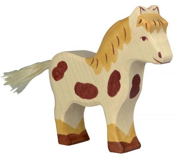 Pony Bauernhof Holzfigur Holzspielzeug von Holztiger