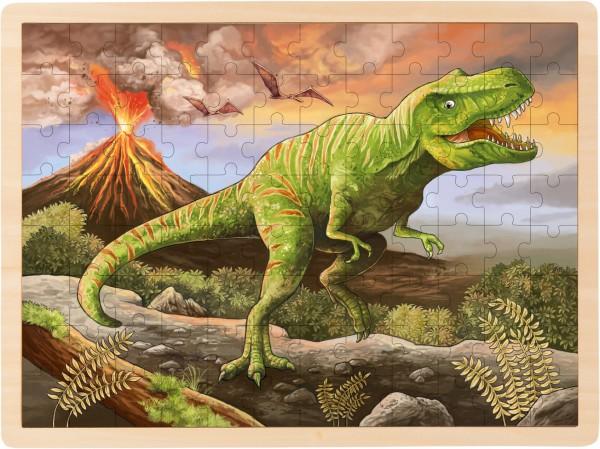 Einlegepuzzle T-Rex 96 Teile von goki