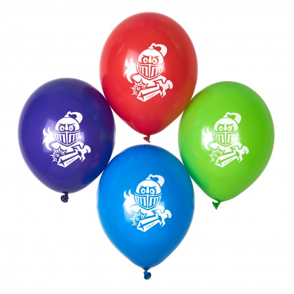 Ritter Luftballons für Ritterparty Palandi® 12 Stück Normaldruck