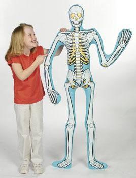 Halloween Skelett aufblasbar aus PVC