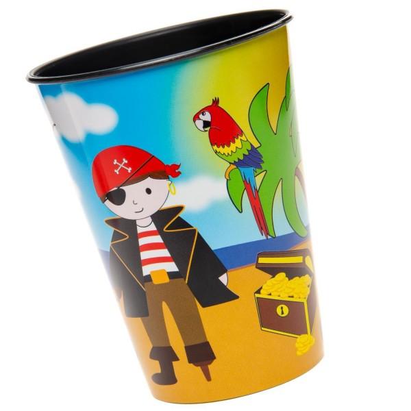 PiratenParty Kunststoff Becher 1 Stück