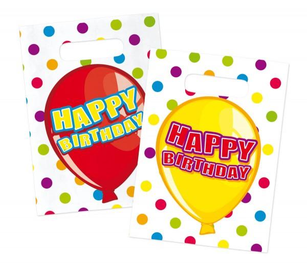 Happy Birthday Partytüten Mitgebsel Partybeutel 6 Stück