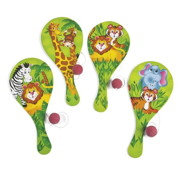 Safari Ballspiel Geschicklichkeitsspiel Mitgebsel 12 Stück