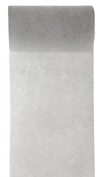 Tischband grau Vlies 10cm x 10m