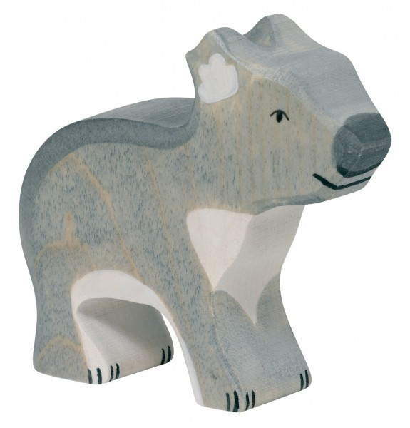 Koala-Bär Safari Holzfigur Holzspielzeug von Holztiger