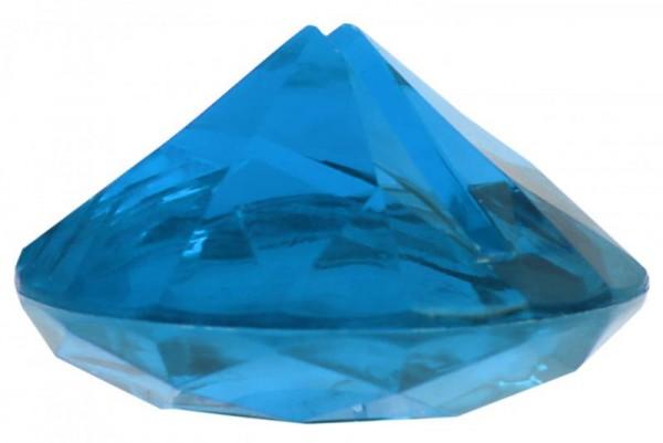 Tischkartenhalter Diamant Blau für Namensschild 4 Stück