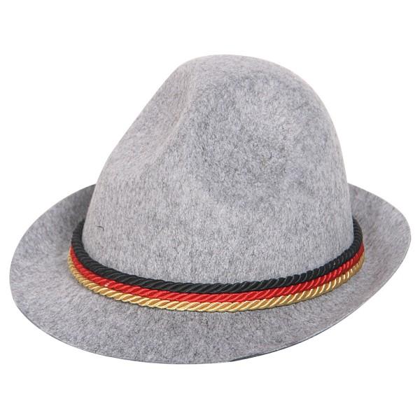 Oktoberfesthut mit Deutschland Farben Tiroler Hut