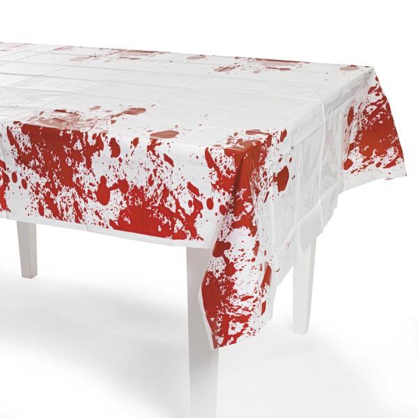 Halloween Tischdecke mit Horror Blutspritzern