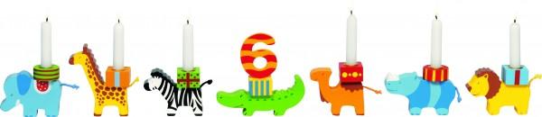 Geburtstagszug Tierkarawane von goki