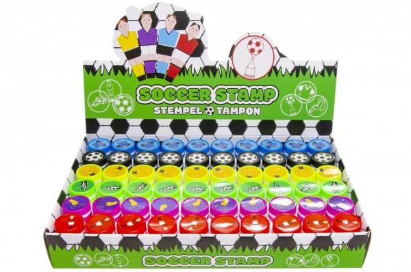 Kinderstempel Fußball 60 Stück 6 Motive
