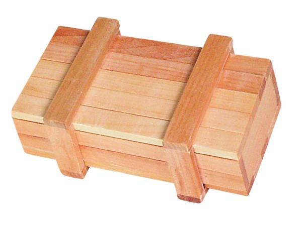 Zaubertrickkiste mit Geheimverschluss aus Holz von goki