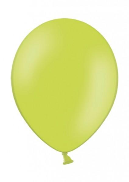 Luftballon Apfelgrün 28cm Durchmesser 50 Stück
