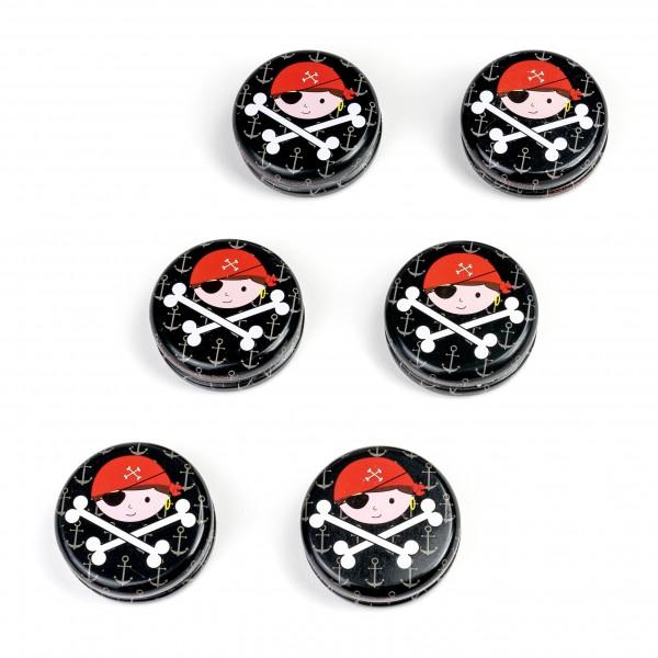 Piraten-Party YoYo Mitgebsel 6 Stück