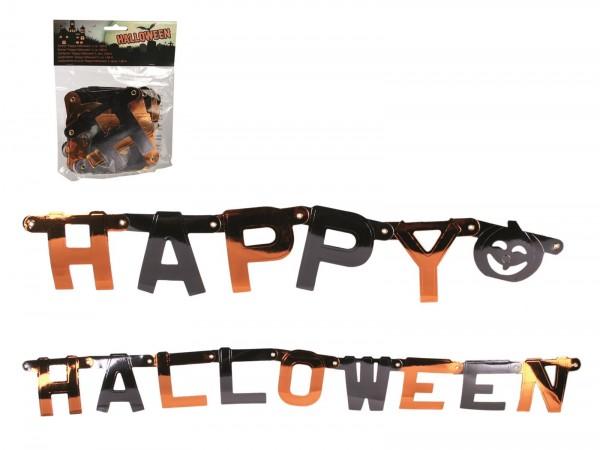 Happy Halloween Girlande Buchstabengirlande