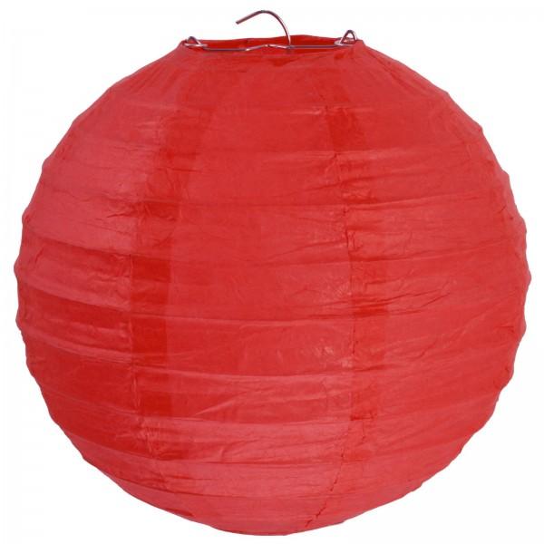 Lampions Rot 50cm Durchmesser Laterne 1 Stück